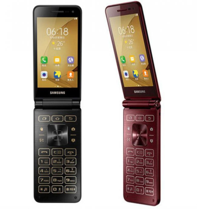 Смартфон Samsung Galaxy Folder 2 Dual G1650