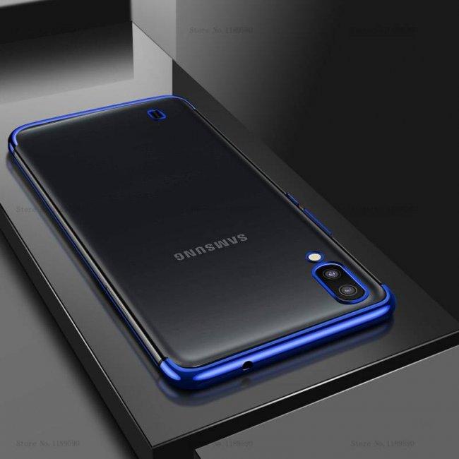 Калъф за Samsung Galaxy M10 Silicon Back Invisible Case - Прозрачен силиконов гръб