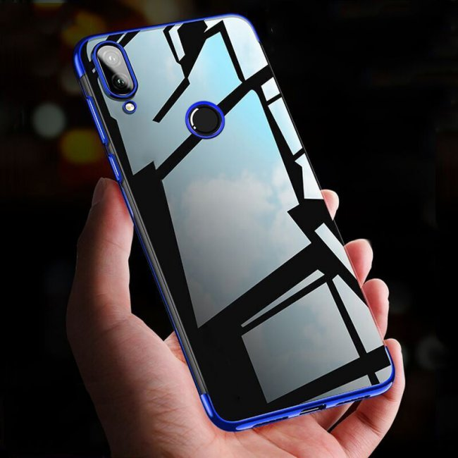 Калъф за Samsung Galaxy M20 Silicon Back Invisible Case - Прозрачен силиконов гръб
