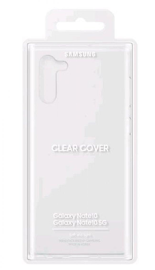 Калъф за Samsung Galaxy Note 10 N970 Clear Cover  оригинален