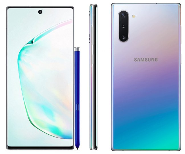 Смартфон Samsung Galaxy Note 10 N970 DUAL