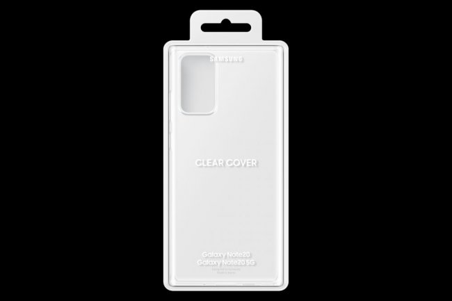 Калъф за Samsung Galaxy Note20 N980 Clear Cover Transparent оригинален