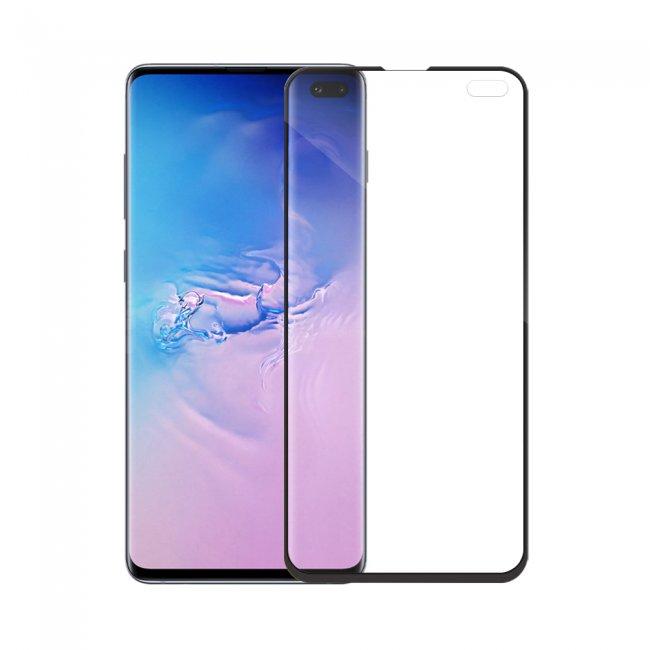 Стъклен Протектор за мобилен телефон Samsung Galaxy S10 Plus 5D Full Glue стъклен протектор