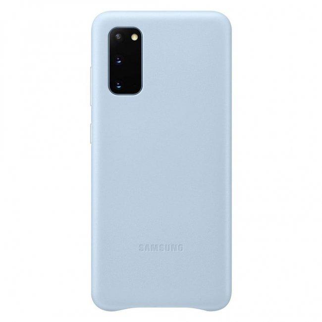 Цена на Samsung Galaxy S20 G980 Leather Cover Кожен оригинален