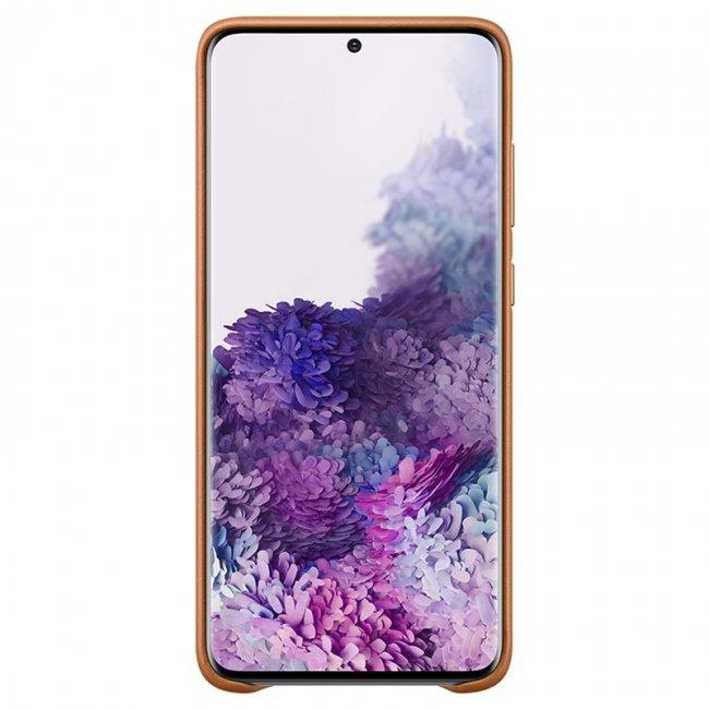 Снимка на Samsung Galaxy S20 G980 Leather Cover Кожен оригинален