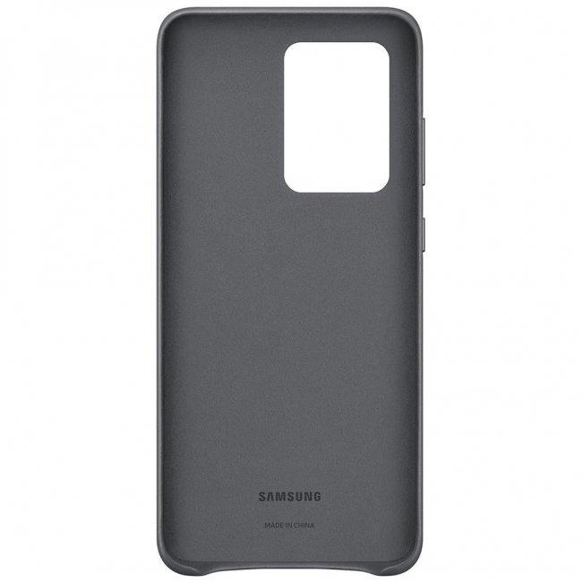Samsung GALAXY S20 Ultra LEATHER COVER Кожен оригинален Снимка