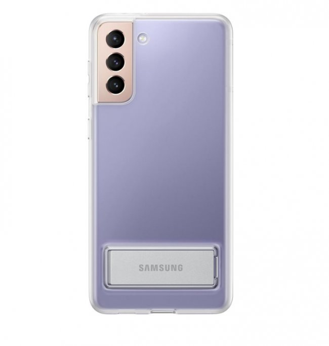 Калъф за Samsung Galaxy S21+ Clear Standing Cover Transparent