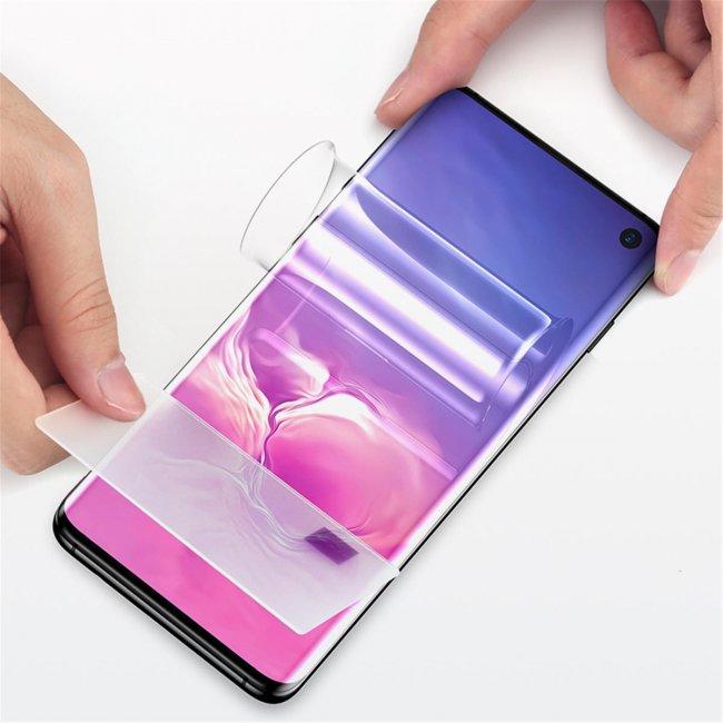 Защитно Фолио за Мобилни телефони Samsung Galaxy S21+ хидрогел пълно покритие