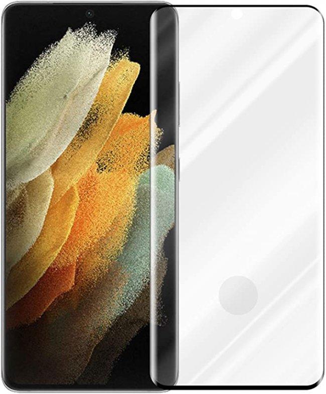 Стъклен Протектор за мобилен телефон Samsung Galaxy S21 Ultra 5D Tempered Glass