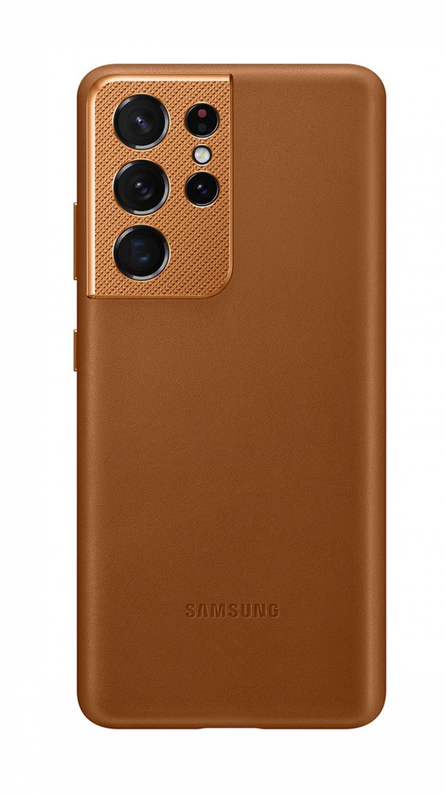 Калъф за Samsung Galaxy S21 Ultra Leather Cover