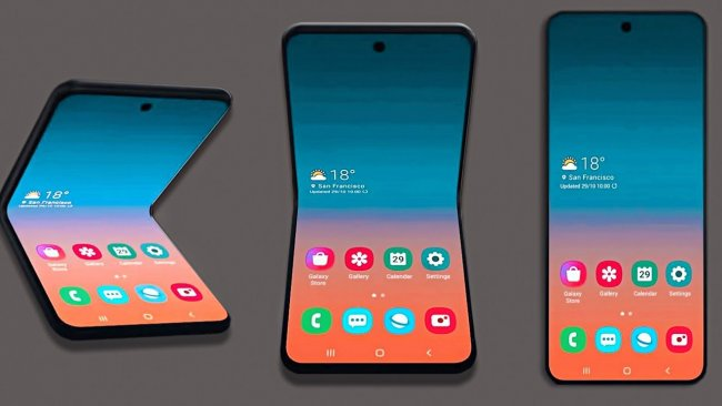 Цена на Samsung Galaxy Z Flip DUAL F700