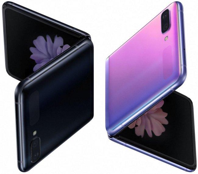 Смартфон Samsung Galaxy Z Flip DUAL F700