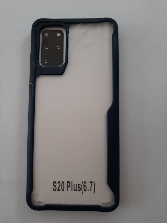 Калъф за Samsung S20+ Plus армиран гръб