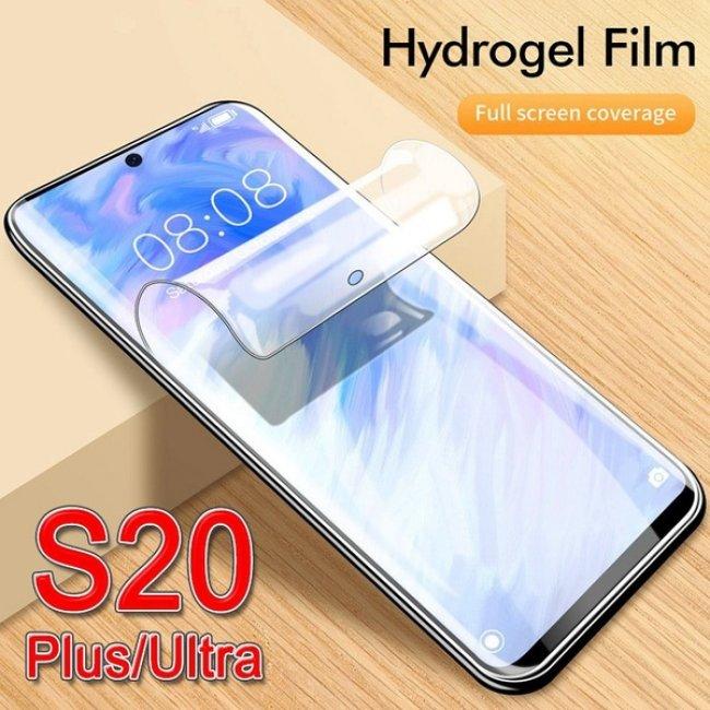 Защитно Фолио за Мобилни телефони Samsung S20 Plus хидрогел пълно покритие