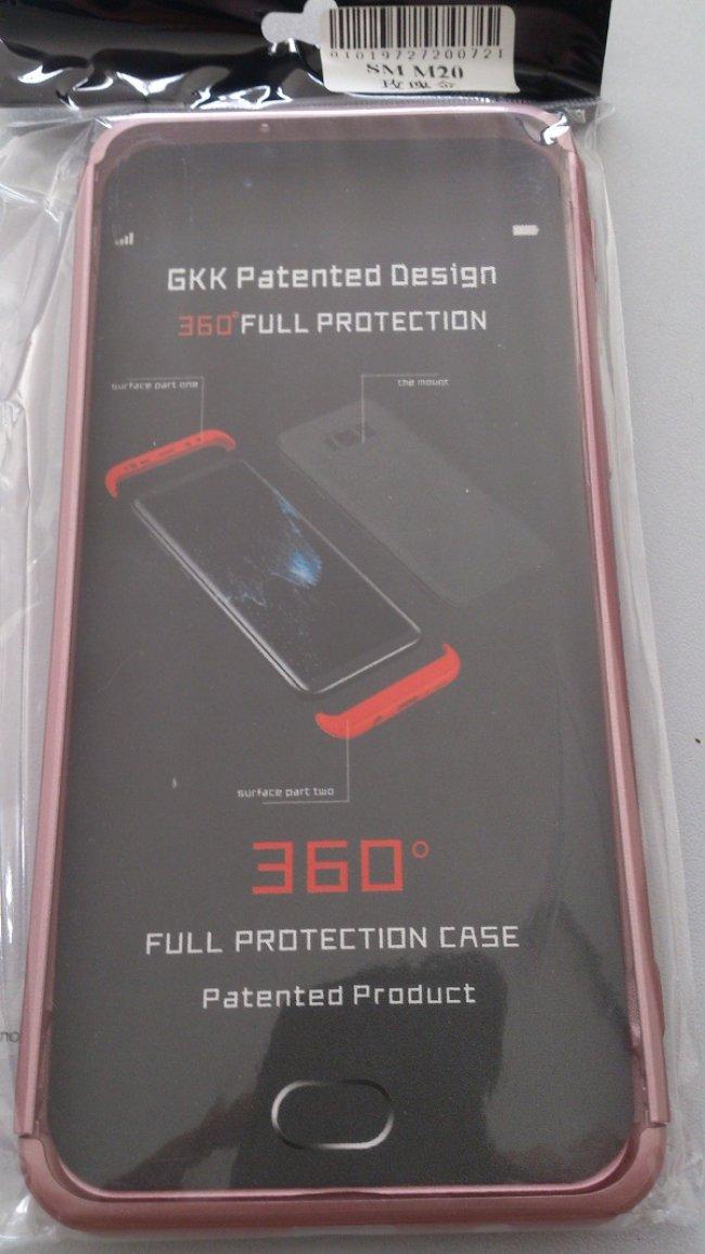 Калъф за Samsung Samsung Galaxy M10 Protector Case 360 - Твърд Гръб за телефон