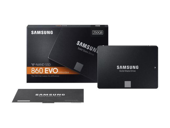 "Samsung SSD 860 EVO 2.5"" SATA III 250GB"