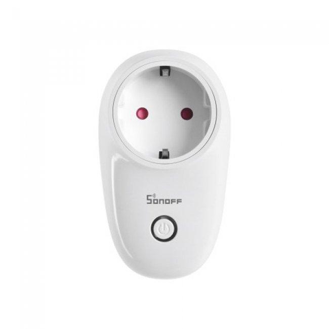Смарт контакти и разклонители Sonoff Smart socket WiFi S26 DE typ E