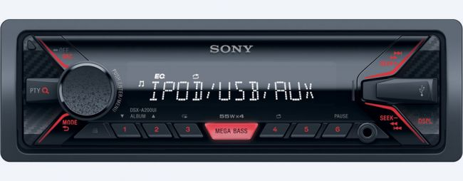 Автомобилна електроника Sony DSXA200UI