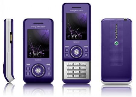 GSM Sony Ericsson S500