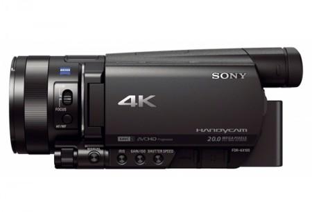 Любителска видеокамера Sony FDR-AX100E
