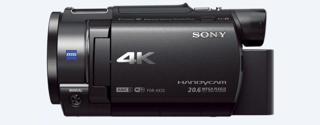 Любителска видеокамера Sony FDR AX33B