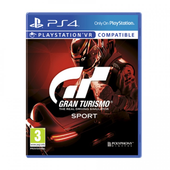 PlayStation Sony Gran Turismo Sport (PS4)