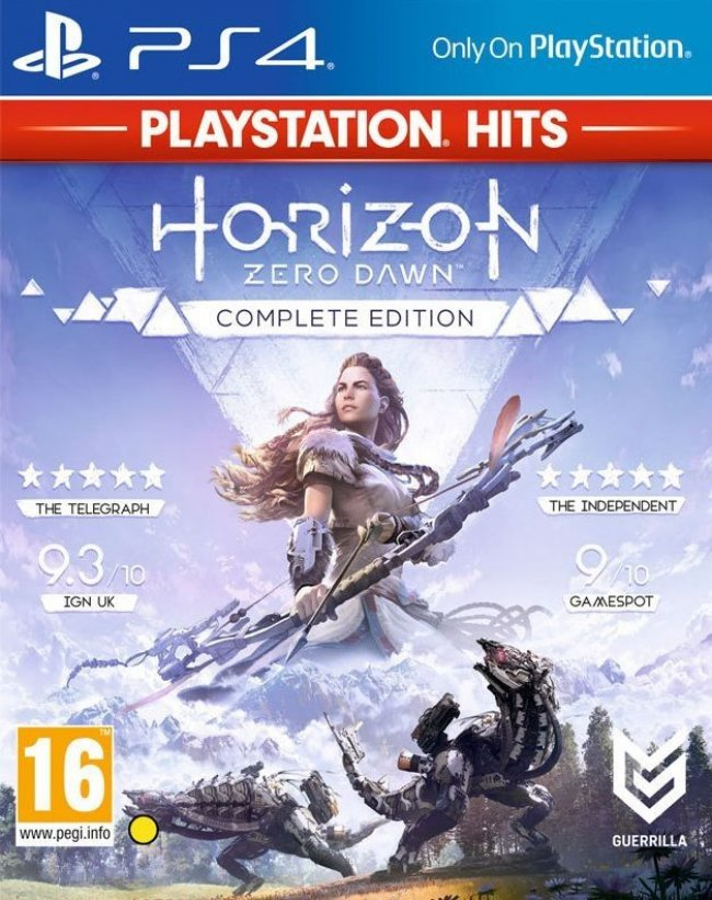 PlayStation Sony Horizon: Zero Dawn - Complete Edition (PS4)