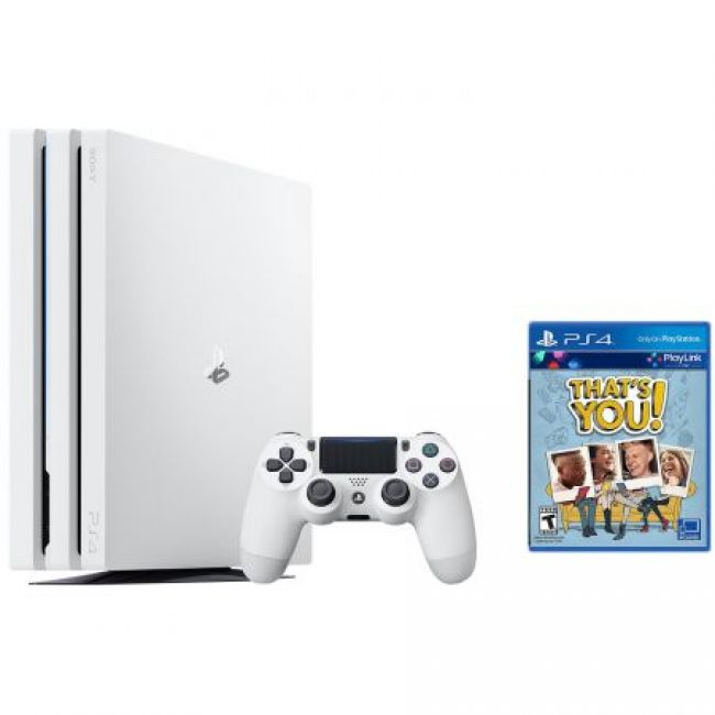 PlayStation Sony Playstation 4 PRO 1TB White + Игра That's You