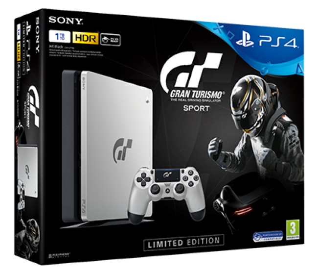 PlayStation Sony PlayStation 4 SLIM 1TB+PS4 Games Gran Turismo Sport
