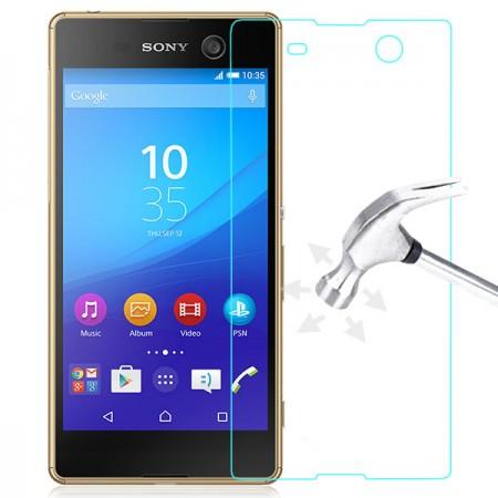 Стъклен Протектор за мобилен телефон Sony Xperia M5 Glass