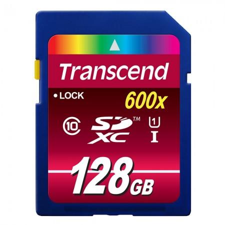 Карта памет Transcend 128GB SDXC Class10 UHS-I Card TS128GSDXC10U1