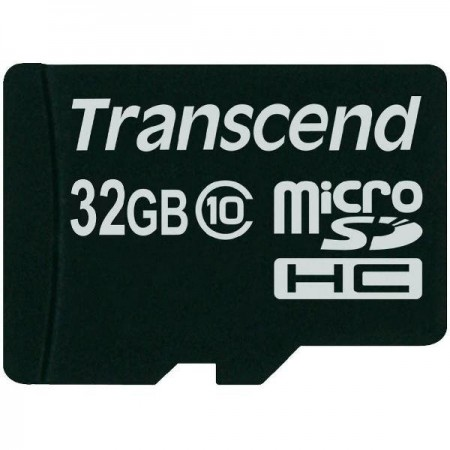 Карта памет Transcend 32GB micro SDHC 1 adapter - Class 10 TS32GUSDHC10