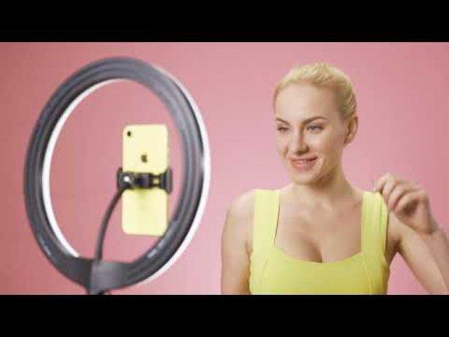Vidlok Selfie Ring Light 12''