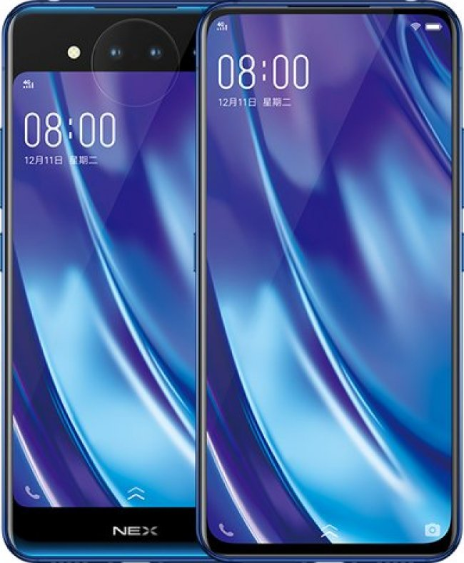 Vivo NEX Dual Display Dualsim