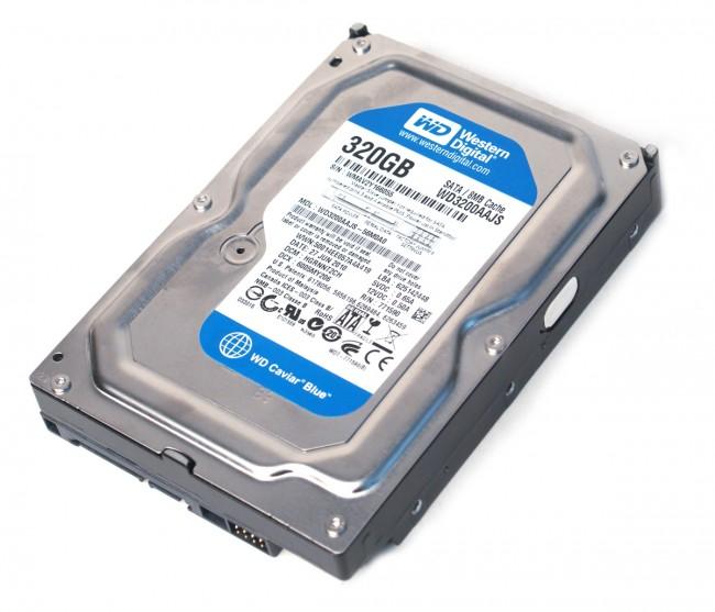 Western Digital 320GB 8MB 7200rpm SATA2 WD3200AAJS