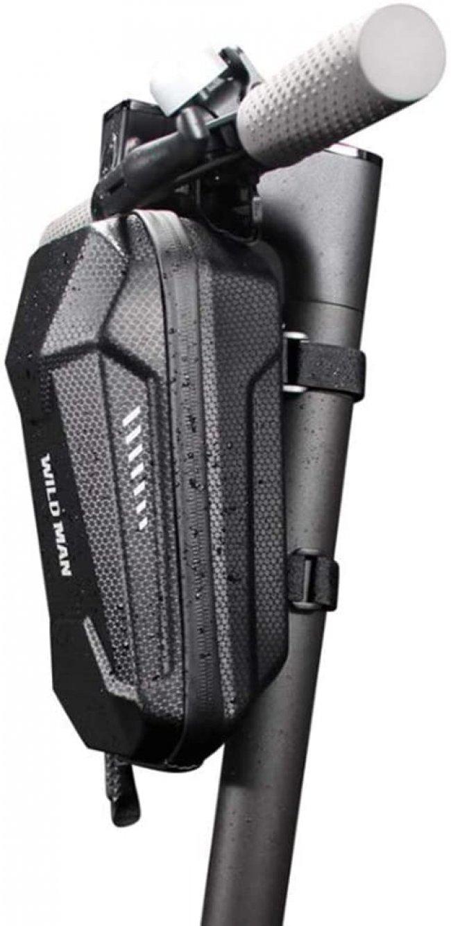 Аксесоар за велосипед Wild Man Hard Shell Водоустойчива чанта за скутер