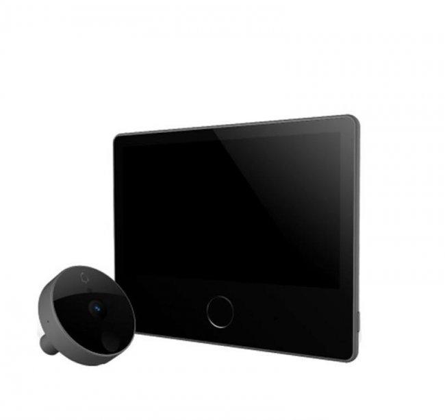 Видеонаблюдение Xiaomi CatY Luke Smart cats eye Youth version -видеодомофон