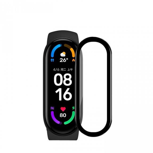 Аксесоари за спортни гривни и часовници Xiaomi Curved Hot Bending Composite Film For Mi Band 6 протектор