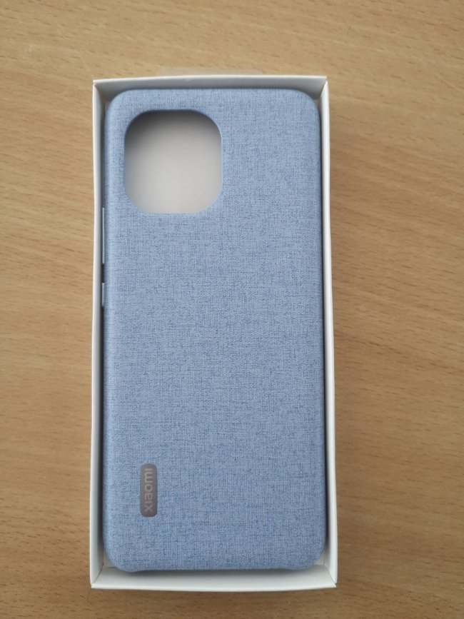 Калъф за Xiaomi Mi 11 CLOTH PATTERN VEGAN LEATHER CASE - оригинален