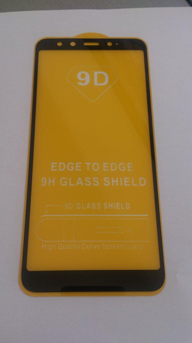 Стъклен Протектор за мобилен телефон Xiaomi Mi 6X / Mi A2 Стъклен 9D протектор с пълно покритие