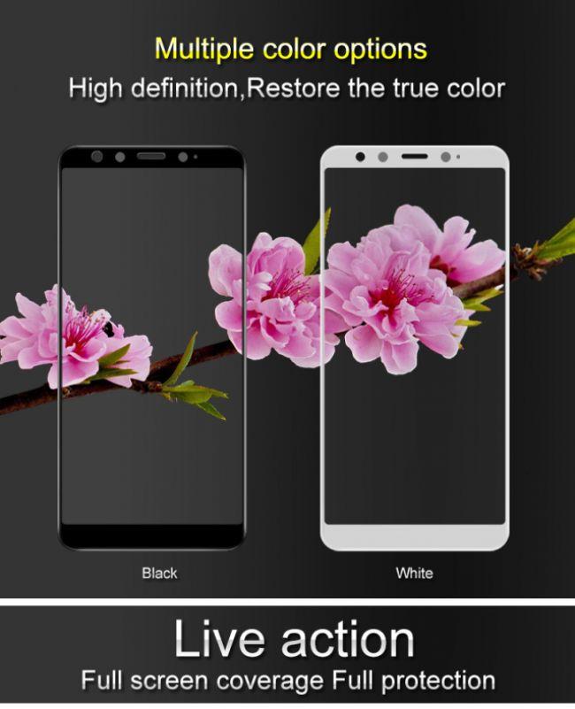 Стъклен Протектор за мобилен телефон Xiaomi Mi 6X / Mi A2 Стъклен протектор с пълно покритие