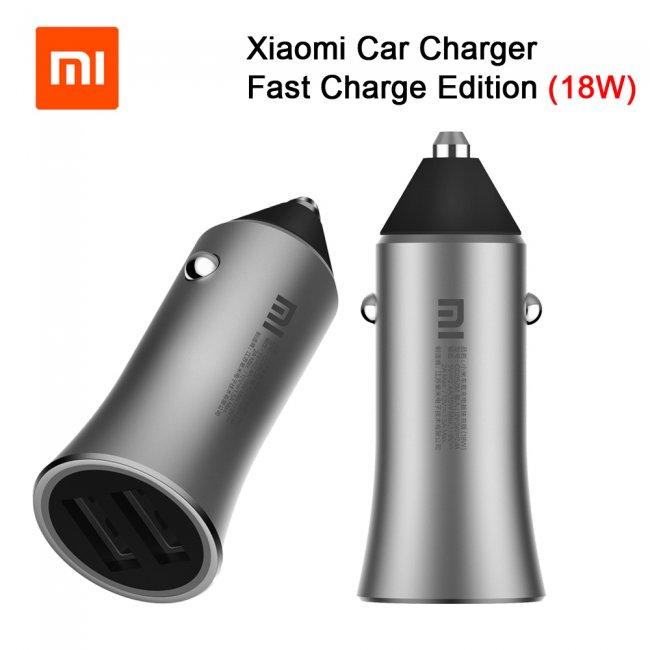 Зарядно за Xiaomi Mi Car Charger 12V 18W Dual USB
