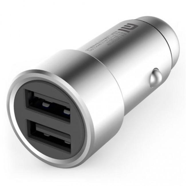 Зарядно за XIAOMI Mi Car Charger Dual USB Silver