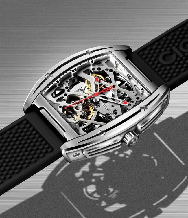 Часовник Xiaomi MI CIGA Design Hollowed-out Mechanical Watch