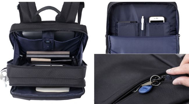 Чанта за лаптоп Xiaomi Mi Classic Business Backpack Black