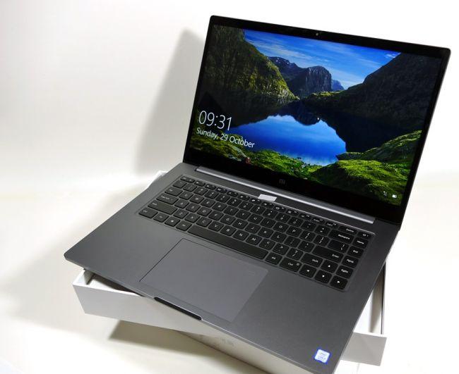 Laptop Xiaomi Mi Notebook Pro I7 15 6 256gb 8gb Ram Cena Snimki