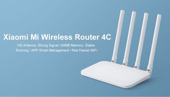 Xiaomi Смарт Устройство Xiaomi Mi Router 4C Рутер
