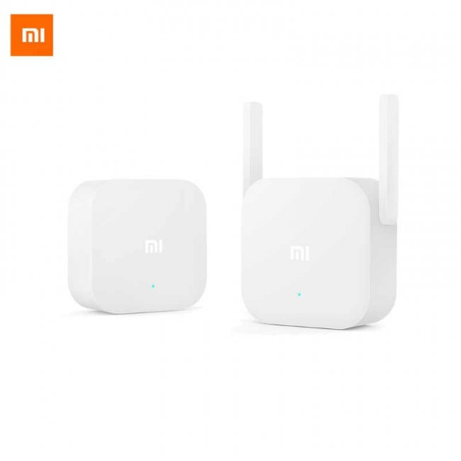 Xiaomi Смарт Устройство Xiaomi Mi WiFi Electric Power Cat Adapter Extender Kit Усилвател