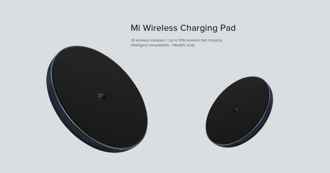 Xiaomi Смарт Устройство Xiaomi Mi Wireless Charger PAD 10W