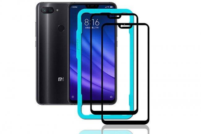 Стъклен Протектор за мобилен телефон Xiaomi Mi8 Lite Glass Protector 9D - Стъклен Протектор